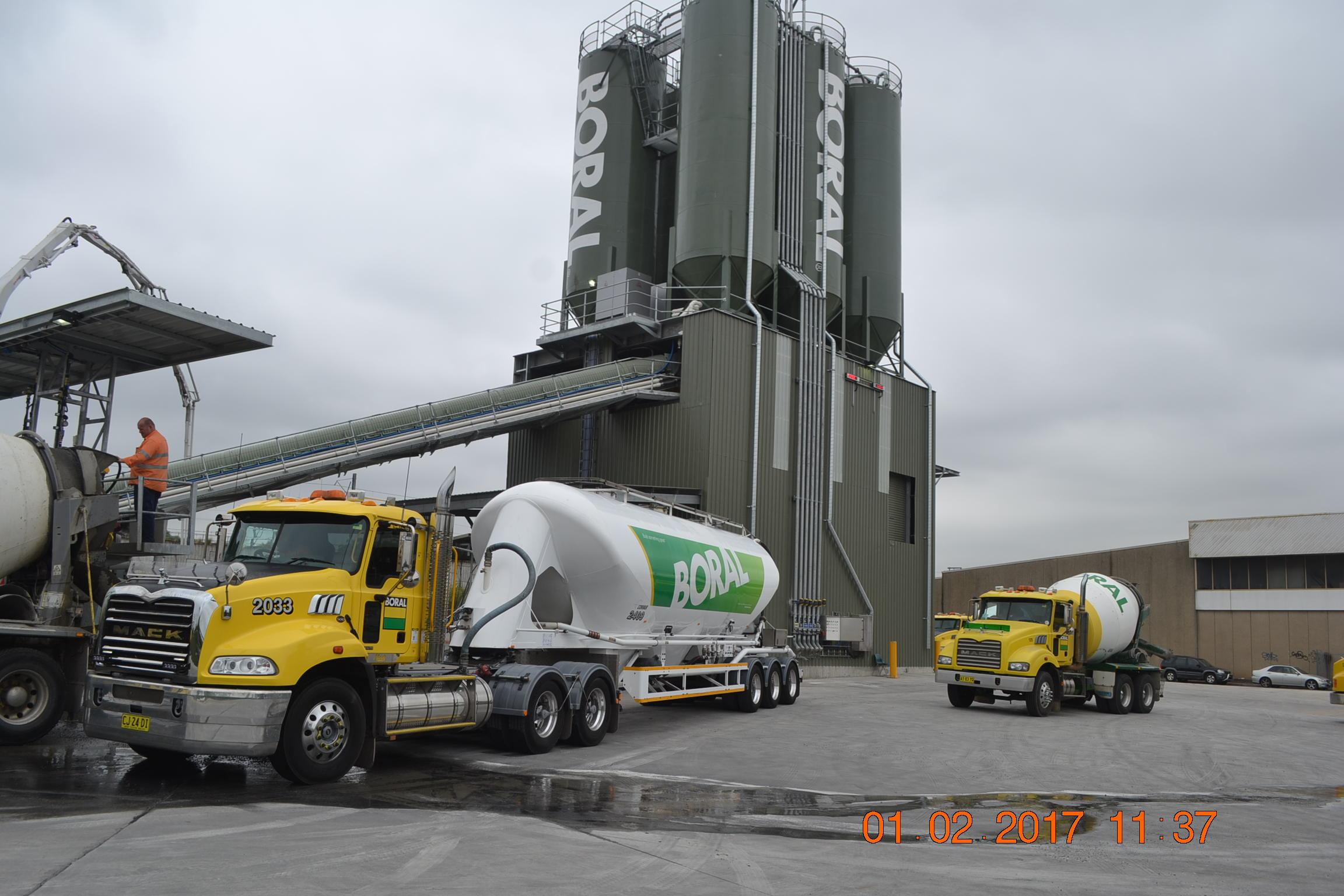 Boral Granville Concrete Batch Plant